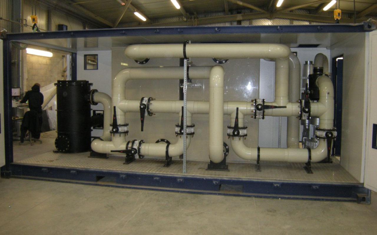 tuyauterie traitement de l'air